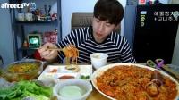 吃出个未来·韩国吃货男主播女主播吃饭直播真的是什么都吃,大胃王减肥美食视频美食人生大学生做菜_高清