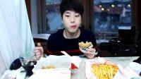 吃播投稿微信:cnzdch——吃出个未来·韩国女主播吃货男主播吃饭直播真的是什么都吃,大胃王减肥美食视频美食人生大学生做菜