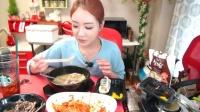 吃播投稿微信cnzdch——吃出个未来·韩国女主播吃货男主播吃饭直播真的是什么都吃,大胃王减肥美食视频美食人生大学生做菜4