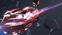 晶莹钻石玻璃质感宣传LOGO展示照片切换AE模板珠宝活动包装AE片头