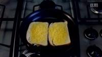 【大吃货爱美食】厨房新技能——1分钟教会金黄香浓的烤奶酪吐司~ 150706