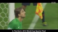 守门员超能扑救!精彩足球视频