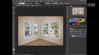 [PS]photoshop基础课程透视剪裁工具运用