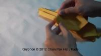 摺紙獅鷲教學 [32x32 Box-pleating] ( Kade Chan )