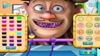 《熊出没之雪岭熊风》★光头强看牙医★这就是不爱护牙齿的结果!4399小游戏!