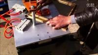 视频: 钉角机价格1 十字绣框钉角机厂家 裱框打框机价格 相框拼框机设备厂