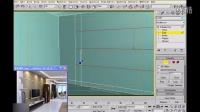3DMAX一体化建模实例:客厅实例(三)【模型云】