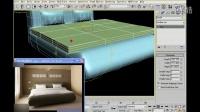 3dmax无缝建模实例:床(二)【模型云】