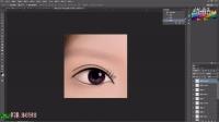 [PS]photoshop教程PS教程PS转手绘教程PS眼睛转手绘教程PS手绘眼睛PS合成PS人物调色PS人物美白PS全套PS自诩教程