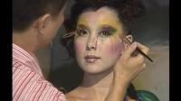 2004年 台北国际化妆品展 朱正生 毕卡索人体彩绘SHOW