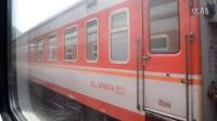 K245次列车经过宝成铁路某站