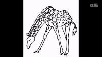 长颈鹿简笔画图片大全(视频版)老徐出品(39)