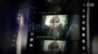 老旧复古电影胶片视频展示AE模板