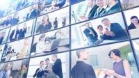 多个商务公司企业LOGO展示AE模板