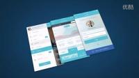 sc 201507015  手机APP移动端应用程序扁平网页设计展示 公司企业品牌实力宣传片