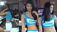 2015 auto show北京国际车展车模篇乐天堂赛车队的乐天使美女车模秀
