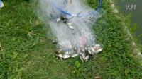 第四代弹性助力环480一次性捕获密密麻麻的小鱼手抛网技巧