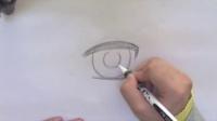 超级漫画素描技法——萌美少女篇   人物眼睛的画法