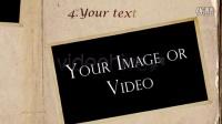 古典书籍相册AE模板3TC000065