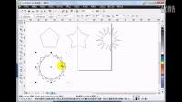 10.cdr图纸工具、多边形工具的使用技巧_潭州cdr工具教程视频