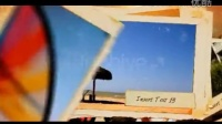 怀旧的撕纸边框相片幻灯连续展示AE模板免费下载