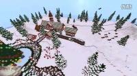 【甄忆嘉】Minecraft 我的世界建筑观赏 -国外作品 ~圣诞姜饼城~