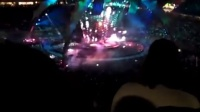 U2乐队演唱会现场舞台灯光特效 2009-2011 360度巡演 Cool light effect at U2 concert
