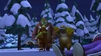 熊出没之冬日乐翻天 42 怪兽在哪 怪兽在哪