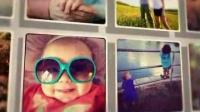 字母相片婚庆儿童视频展示AE模板免费下载 [5K时代网小样]