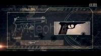枪械射击效果展示AE模板3TA000175