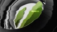 高科技抖动故障失真特效圆球球体环绕变换标志演绎片头AE模板