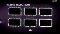 紫色粒子光束主题DVD选单动画样式AE源文件,含音效