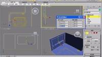 3Dmax室内客厅窗户的制作方法教程.avi