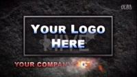 金属牌激光刻字Logo演绎AE模板3TB000546