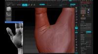 泰山翰林雕刻培训基地  ZBrush-人体-手部模型