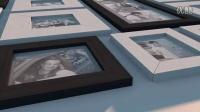 家庭婚庆相片墙AE模板3Tc000523
