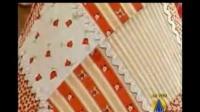 青花靠垫抱枕套的方法教程视频DIY拼布布艺手工制作