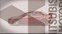 日本三菱红色汽车宣传片AE模板3Td000566