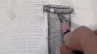 素描教程风景画素描几何体素描