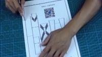 六盘水米汤3d纸雕之城墙纸雕(立体贺卡)纸雕教程