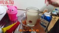 甜蜜的冰淇淋~制作天然有机李子冰淇淋!