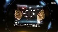 高科技手势动作企业宣传银屏图文展示AE模板