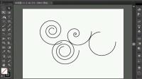 [Ai]平面设计Adobe illustrator cs6全课程教程9螺旋线工具
