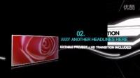 黑色背景电子相册文字展示AE模板3TA000443
