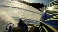雪地试驾雅马哈YFZ450沙滩车视频