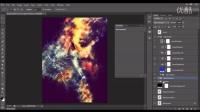 艺品素材-炫酷光点效果特效PS动作-EP01522-