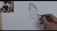 卡通人物素描铅笔画教程 儿童画班开设课程