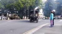 一战时的老式蒸汽车