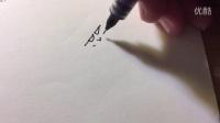 咖灰简笔:黑白手绘表情【吾王卖萌】吾王不是一个人名,是咖灰的盆友~