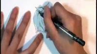 简笔画 教程 百度图片 铅笔画人物眼睛教程图片